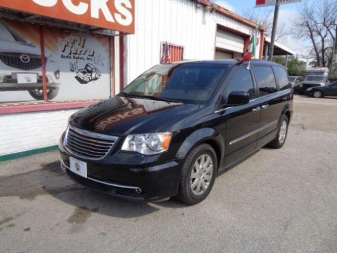 2013 BLACK Chrysler Town and Country Touring (2C4RC1BG9DR) with an 3.6L V6 DOHC 24V engine, 6-Speed Automatic transmission, located at 4545 Spencer Hwy., Pasadena, 77504, (832) 266-1645, 29.666037, -95.173775 - Photo #0