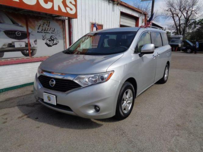 2016 SILVER Nissan Quest SV (JN8AE2KP8G9) with an 3.5L V6 DOHC 24V engine, Continuously Variable Transmission transmission, located at 4545 Spencer Hwy., Pasadena, 77504, (832) 266-1645, 29.666037, -95.173775 - Photo #0